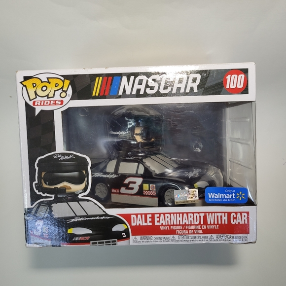 Pop Rides Dale Earnhardt with car